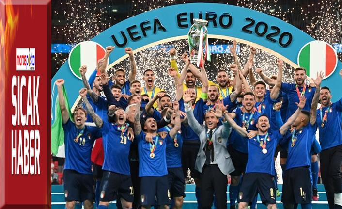 İtalya, penaltılarla 2020 Avrupa Futbol Şampiyonu