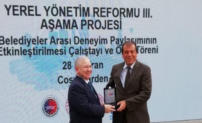 """KMBŞB - İK """"yönetim bilgi sistemi"""" ödül aldı"""