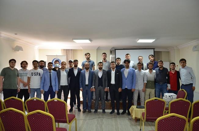 Konya AGD üniversitede mezuniyet heyecanı