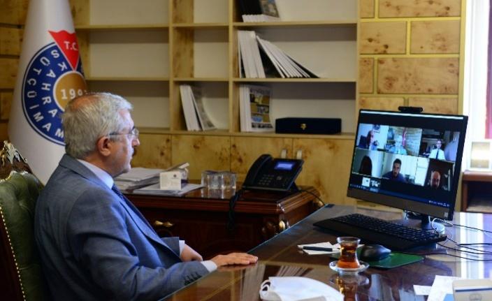 KSÜ'de YÖKAK İzleme Programı  toplantıları gerçekleştirildi