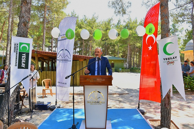 Dulkadiroğlu Belediye Başkanı, Yeşilay'la buluştu
