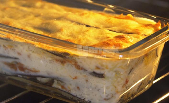 Patlıcandan Lazanya Tarifi