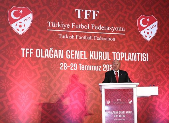 TFF Olağan Genel Kurul Toplantısı yapıldı