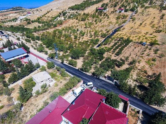 Dulkadiroğlu'ndan Pınarbaşı Kandıl Bölgesine asfalt