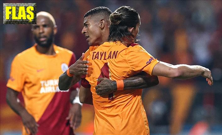 Galatasaray sahasında 2-1 kazandı ve…