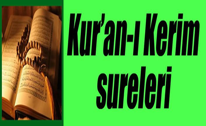 Kur'an-ı Kerim Sureleri: 81-et-TEKVÎR
