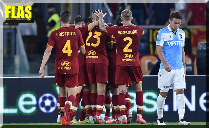 Trabzonspor Avrupa'ya veda etti: 0-3