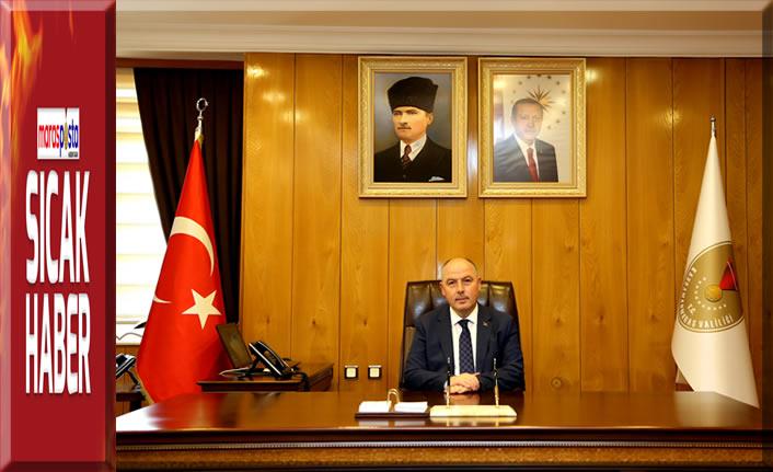 Vali Coşkun'dan 30 Ağustos Zafer Bayramı Mesajı