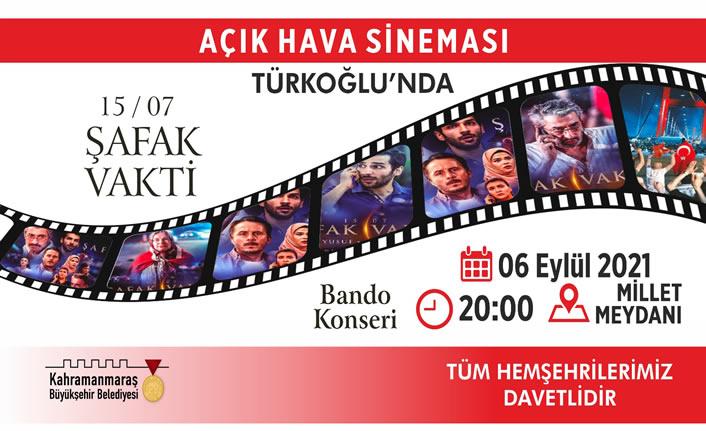 Açık Hava Etkinlikleri Türkoğlu'nda