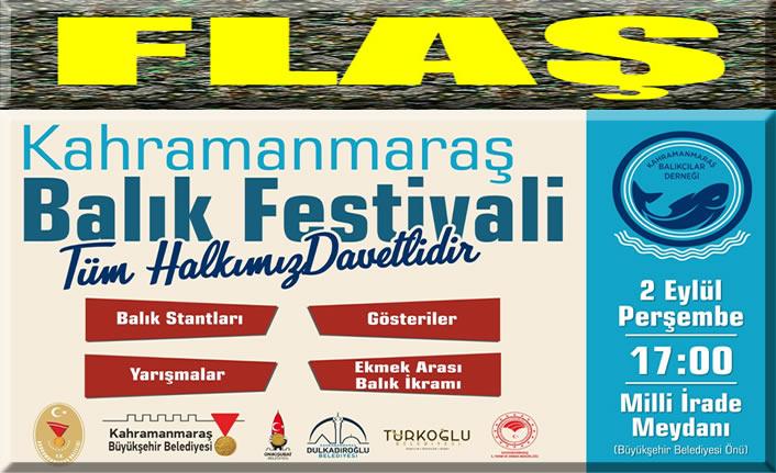 Balık Festivali yarın başlıyor!