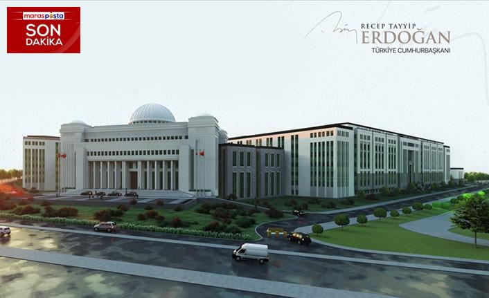 Erdoğan yeni Yargıtay binasına ilişkin detayları paylaştı