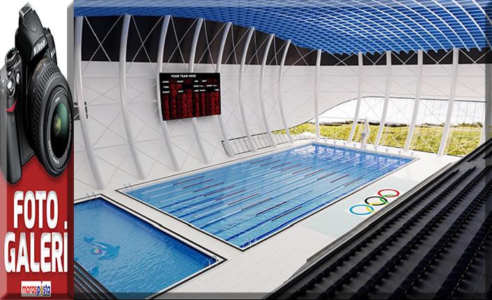 Güngör: Olimpik yüzme havuzu inşa edeceğiz