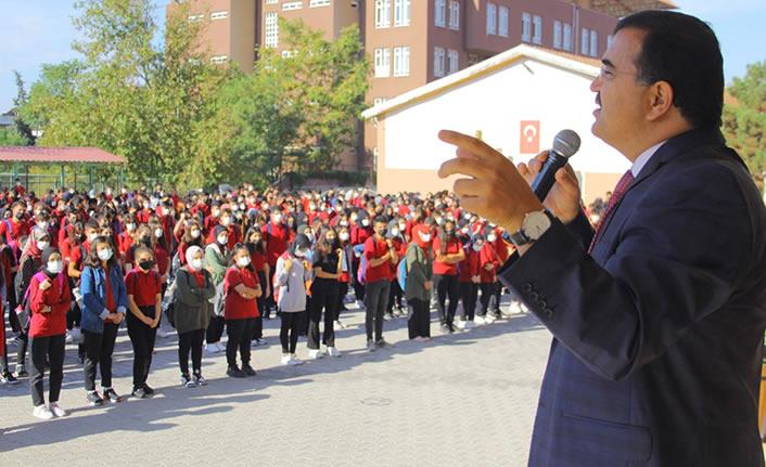 İl Millî Eğitim Müdürü Yusuf Kahraman, KAL' a ziyaret gerçekleştirdi