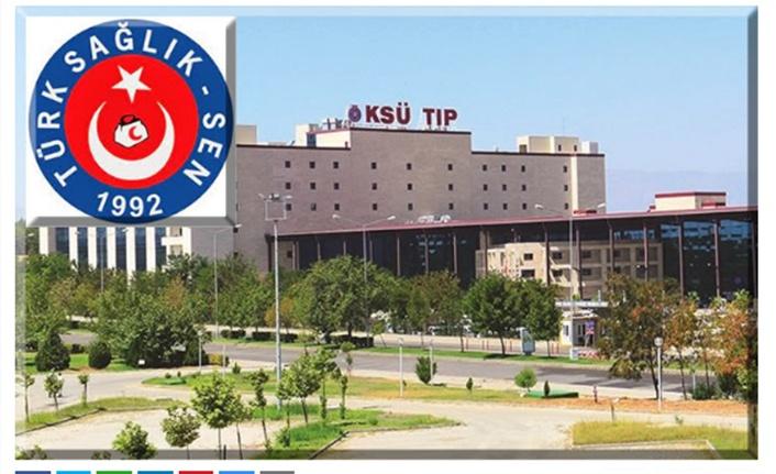 KSÜ, Türk Sağlık-Sen'i manidar bulmuş!