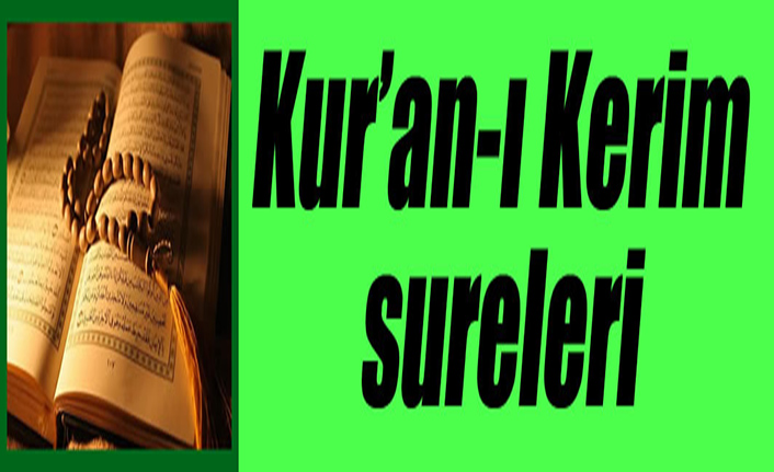Kur'an-ı Kerim Sureleri: 94-el-İNŞİRÂH