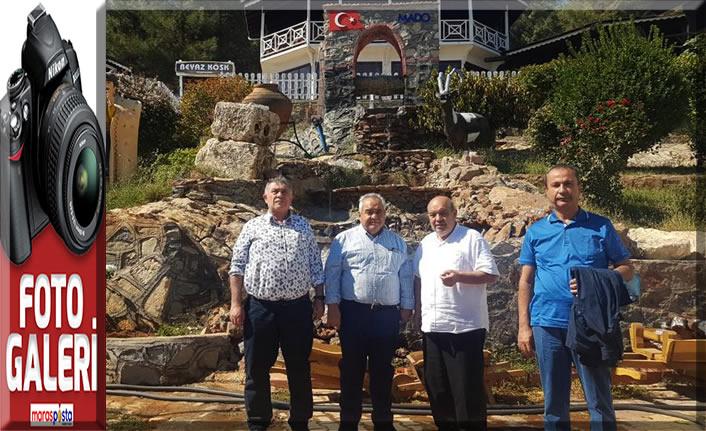 Prof. Dr. Sami Özgül, MADO çiftliğini ziyaret etti