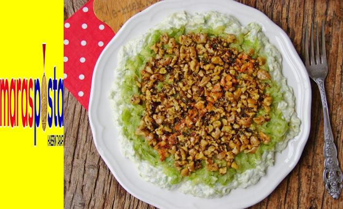 Yedikçe yedirten bir salata: Kabak şayan