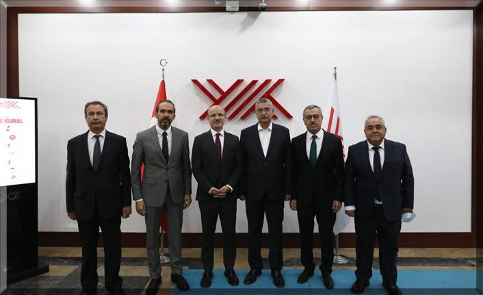 """YÖK Başkanı Erol Özvar'a """"hayırlı olsun"""" ziyareti"""