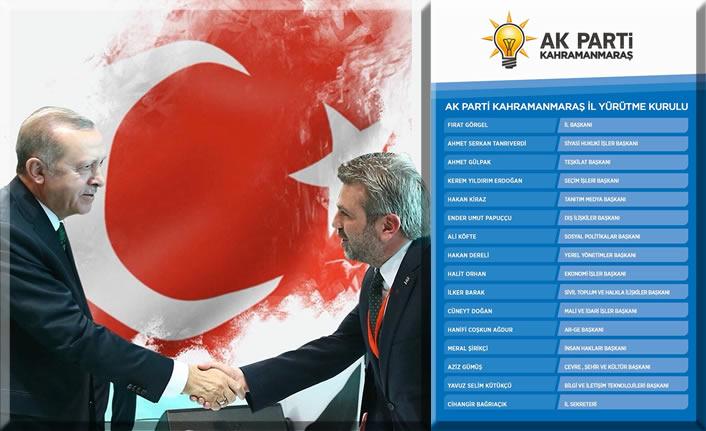 AK Parti İl Yürütme Kurulu'nda değişiklik gerçekleştirildi