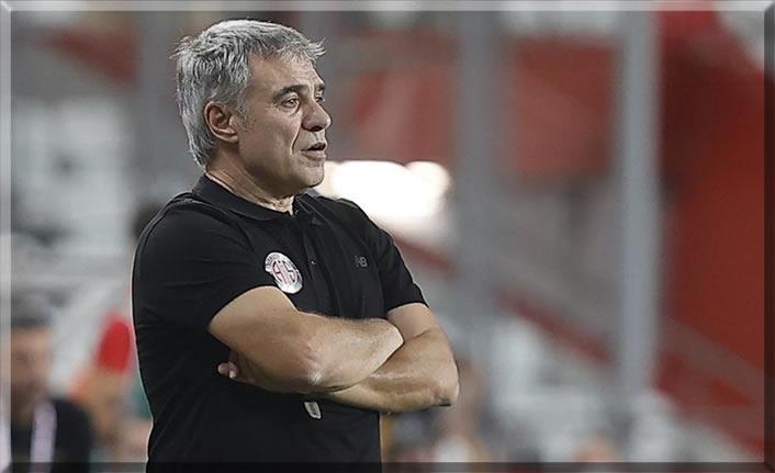 Antalyaspor'da, Ersun Yanal ile yolları ayırdı