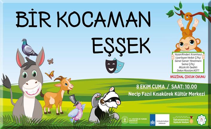 Büyükşehir'den çocuklara tiyatro etkinliği