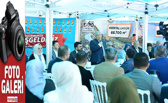 Mahçiçek, AK Parti İlçe Teşkilatıyla bir araya geldi