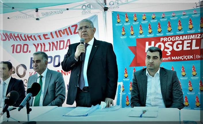 Onikişubat Belediyesi Meclisi, EXPO 2023 alanında toplandı