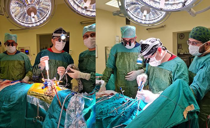 Riskli operasyon KSÜ'de başarıyla gerçekleştirildi