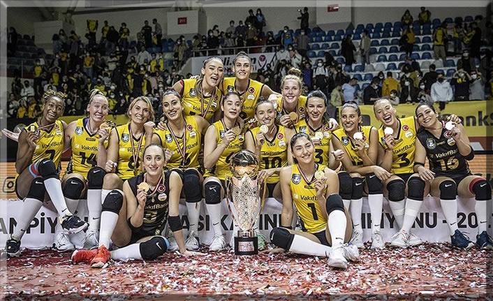 Spor Toto Şampiyonlar Kupası VakıfBank'ın oldu