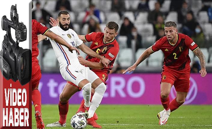 UEFA Uluslar Ligi'nde finalin adı İspanya - Fransa