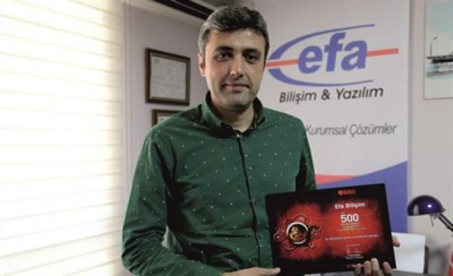 KAHRAMANMARAŞ BİLİŞİM 500'DE YERİNİ ALDI