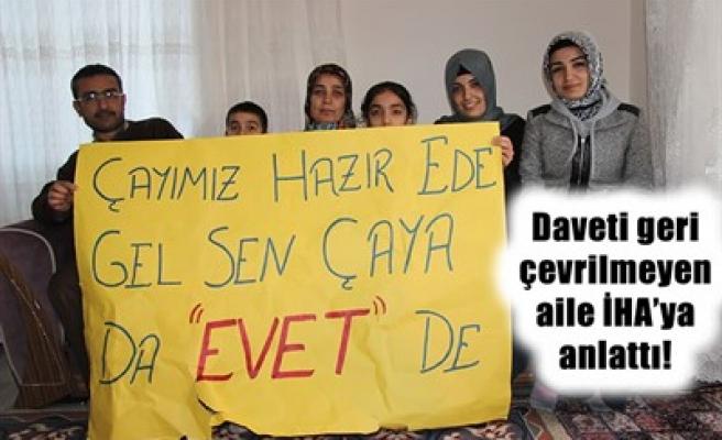 İŞTE ERDOĞAN'IN ZİYARET ETTİĞİ AİLE!