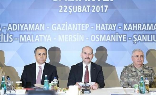 'HALK OYLAMASI BÖLGE GÜVENLİK TOPLANTISI' YAPILIYOR