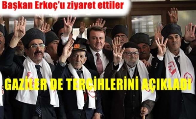 MUHARİP GAZİLER 'EVET' DİYOR
