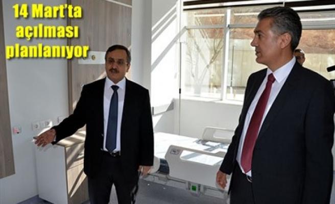 ELBİSTAN DEVLET HASTANESİ AÇILIYOR