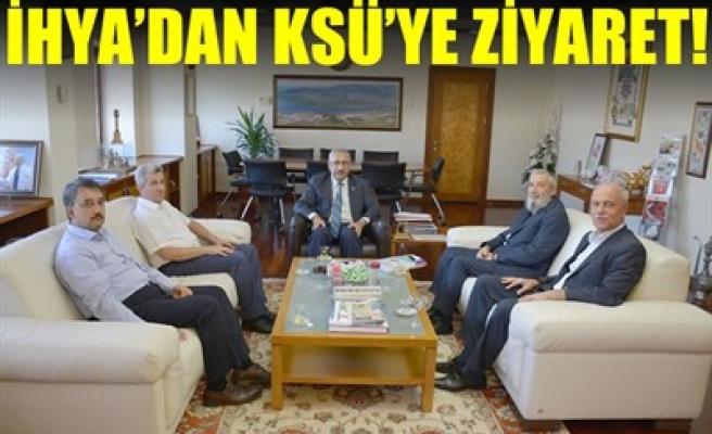 İHYA'DAN KSÜ'YE ZİYARET!