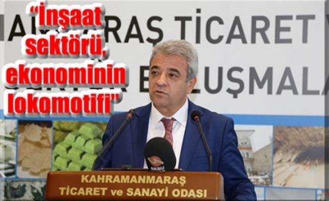 'İNŞAAT SEKTÖRÜ, EKONOMİNİN LOKOMOTİFİ'