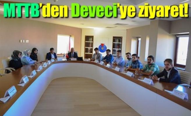MTTB'DEN DEVECİ'YE ZİYARET!