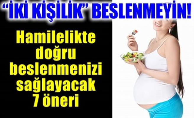 'İKİ KİŞİLİK' BESLENMEYİN!
