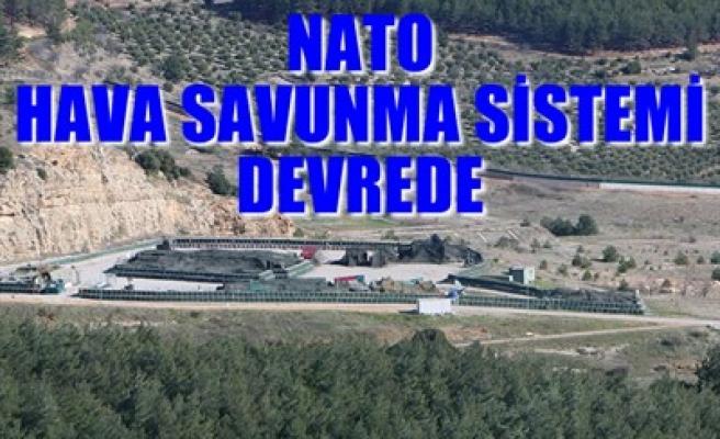 NATO HAVA SAVUNMA SİSTEMİ DEVREDE