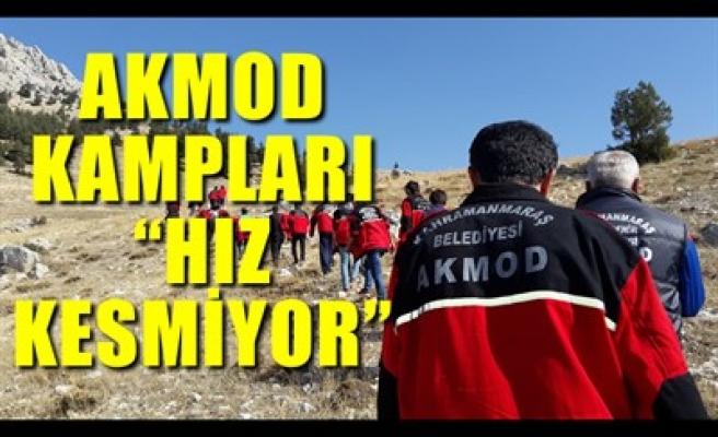 AKMOD KAMPLARI 'HIZ KESMİYOR'