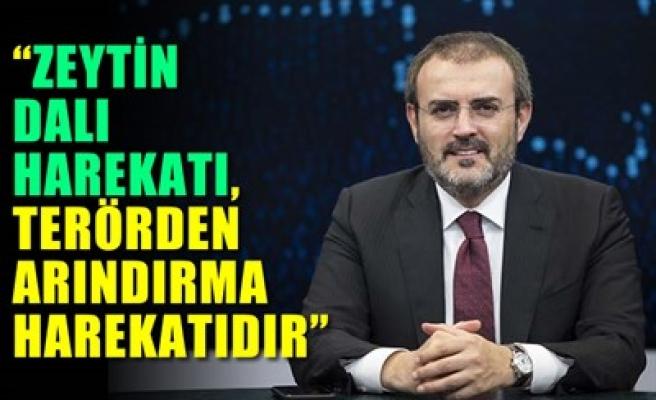 'ZEYTİN DALI HAREKATI, TERÖRDEN ARINDIRMA HAREKATIDIR'