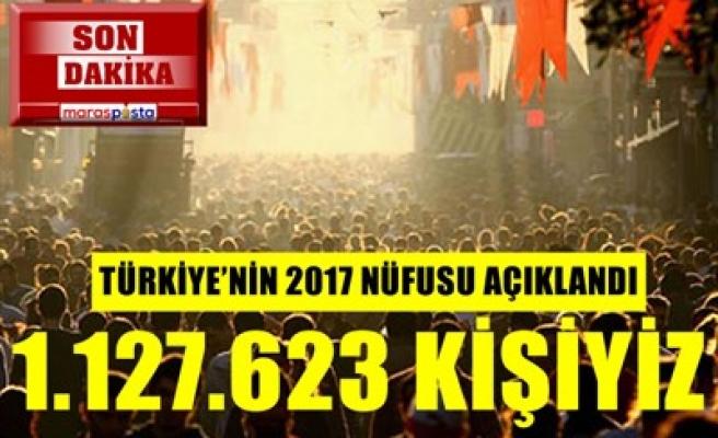 TÜİK AÇIKLADI: 1.127.623 KİŞİYİZ