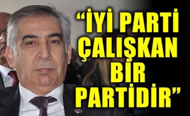 'İYİ PARTİ ÇALIŞKAN BİR PARTİDİR'