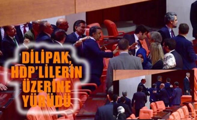 DİLİPAK, HDP'LİLERİN ÜZERİNE YÜRÜDÜ