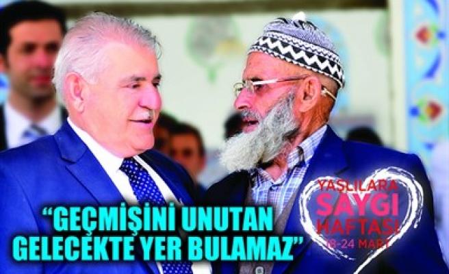 'GEÇMİŞİNİ UNUTAN GELECEKTE YER BULAMAZ'