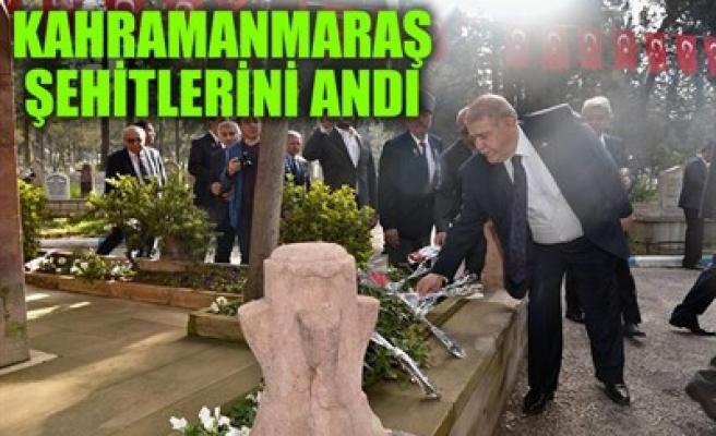 KAHRAMANMARAŞ ŞEHİTLERİNİ ANDI