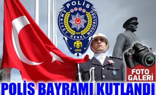 POLİS BAYRAMI KUTLANDI