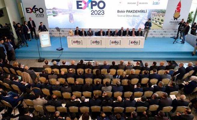 EXPO 2023'E EV SAHİPLİĞİ YAPACAĞIZ