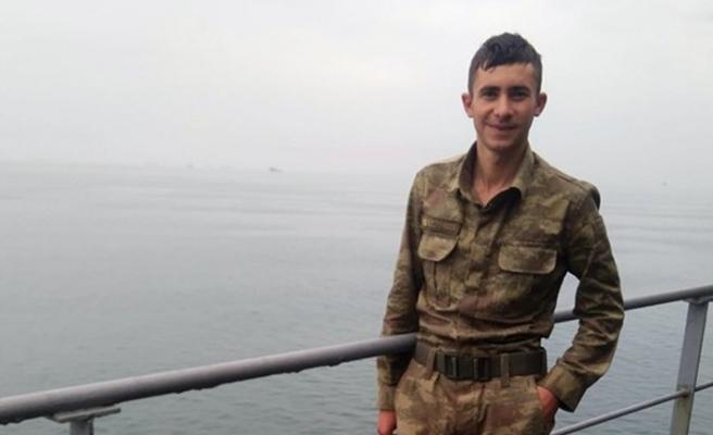 Hava değişimine gelen askerin cesedi bulundu